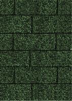 Karibu Rechteckschindeln dunkelgrün