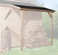 Schleppdach für 19 und 21 mm, 80 x 200 cm, natur