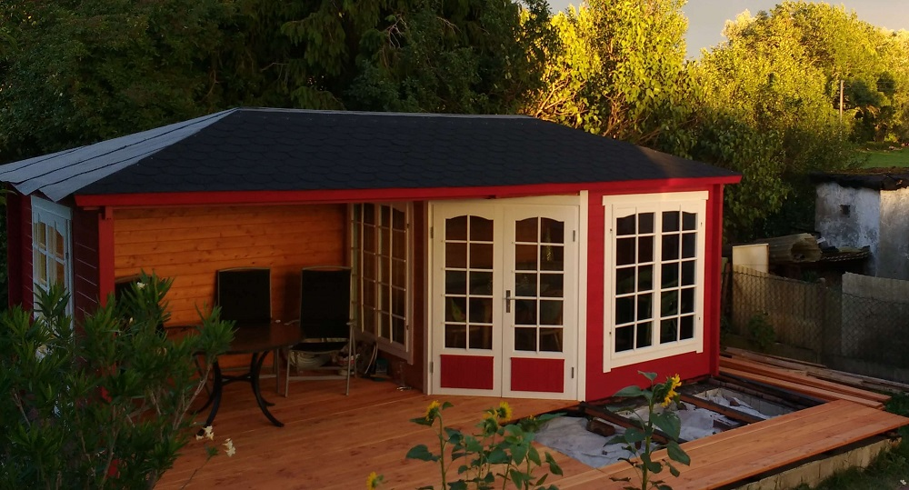 5 eck gartenhaus modell josephine 40 royal. Black Bedroom Furniture Sets. Home Design Ideas