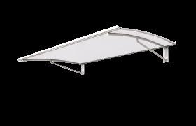 Vordach aus edelstahl aluminium g nstig kaufen jetzt bis 50 - Gartenhaus aus aluminium ...