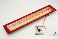 VITALlight-IPX4-Infrarotstrahler-Set Easy Control