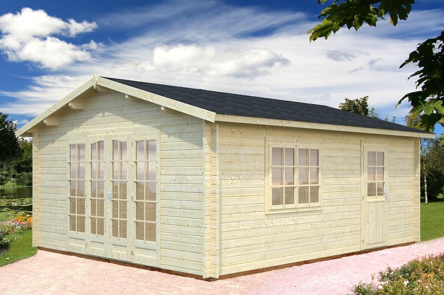 Palmako Gartenhaus Irene 19,0 m² FRK44-3857-1