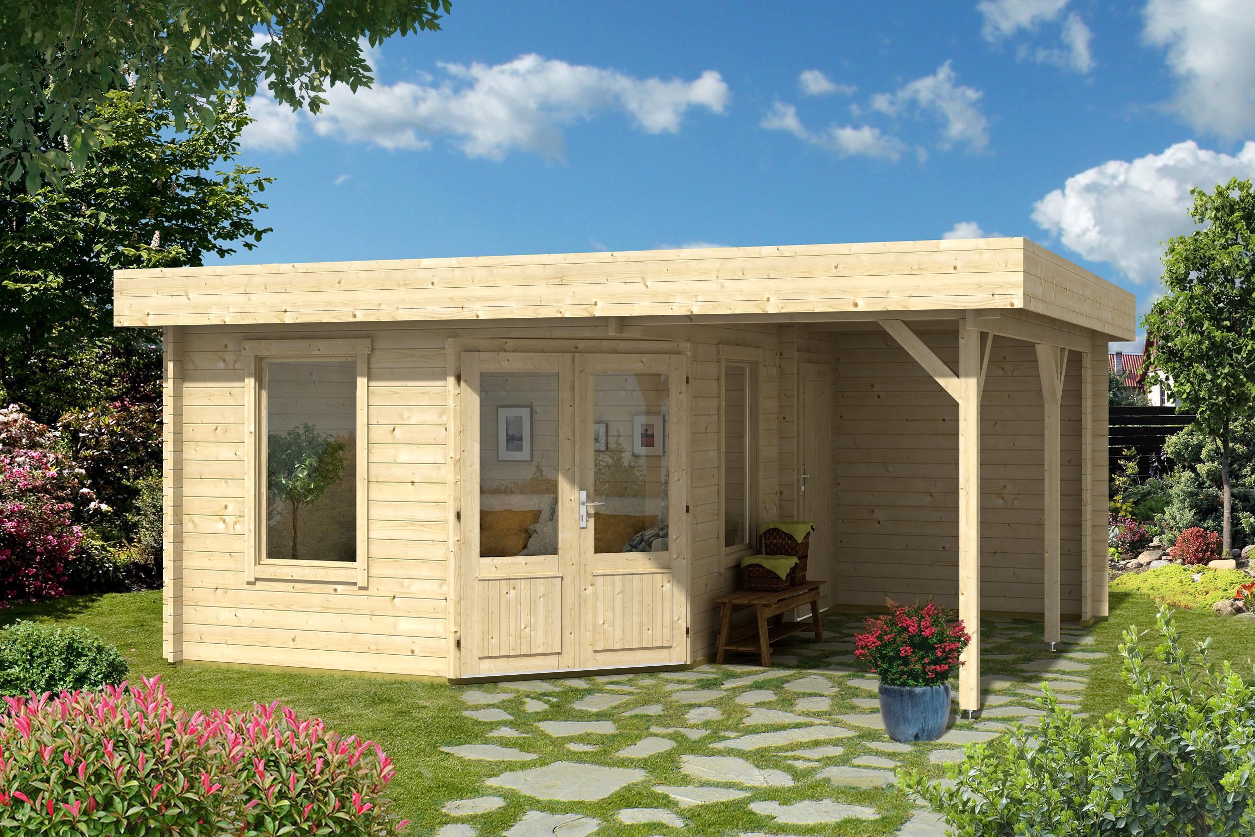 5 eck gartenhaus emili 40. Black Bedroom Furniture Sets. Home Design Ideas