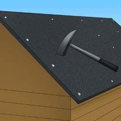 dachpappe auf gartenhaus nageln my blog. Black Bedroom Furniture Sets. Home Design Ideas