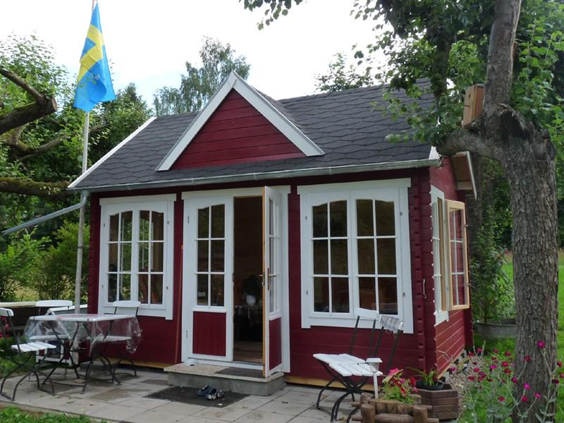 gartenhaus clockhouse 44 royal iso to332. Black Bedroom Furniture Sets. Home Design Ideas