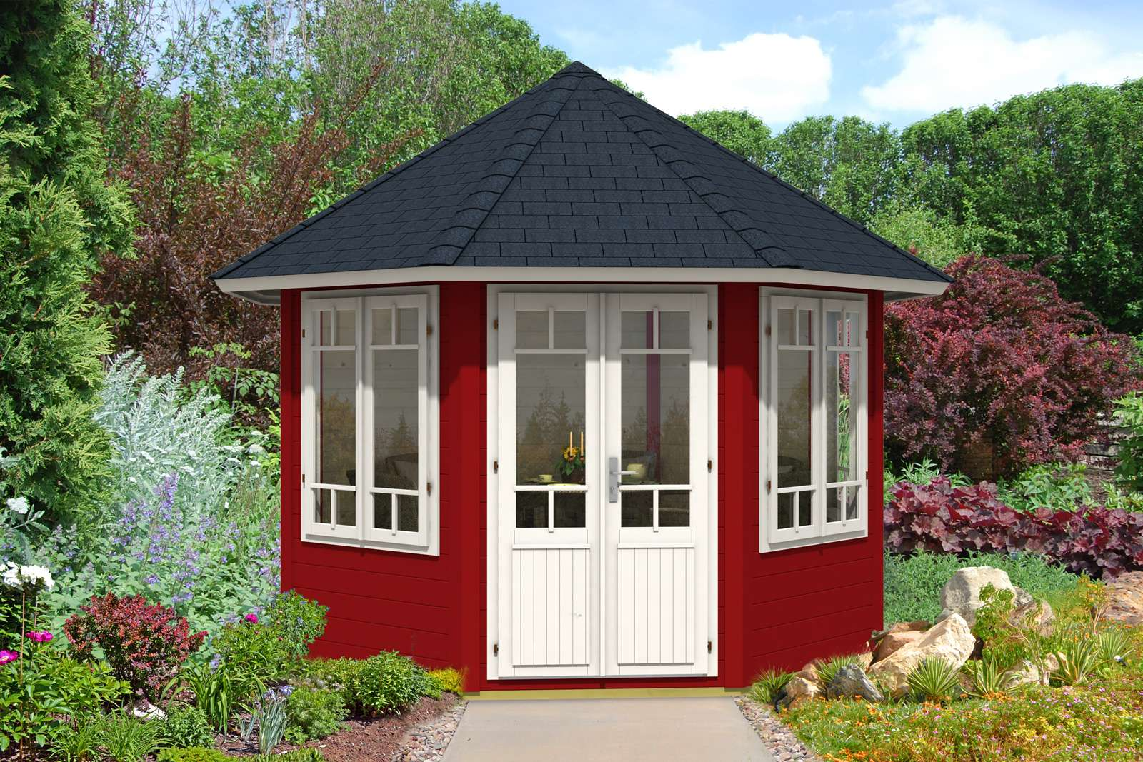Holzpavillon kaufen   Holz Pavillon Bausätze vom Fachmann