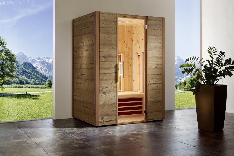 infraworld infrarotkabine triosol alpina zirbe 150 390306. Black Bedroom Furniture Sets. Home Design Ideas