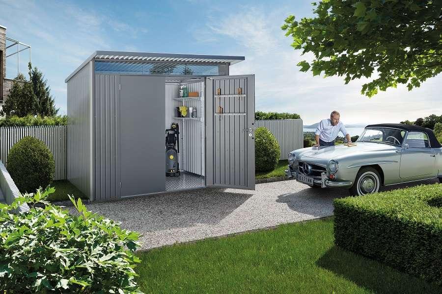 Hervorragend Metallgerätehaus » Gartenhaus aus Metall günstig kaufen UA46