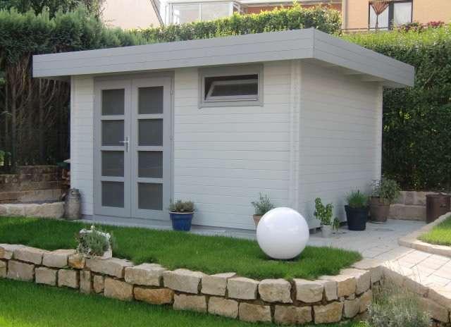 Hervorragend Gartenhaus mit Flachdach günstig kaufen » 0 CHF Versandkosten GM95