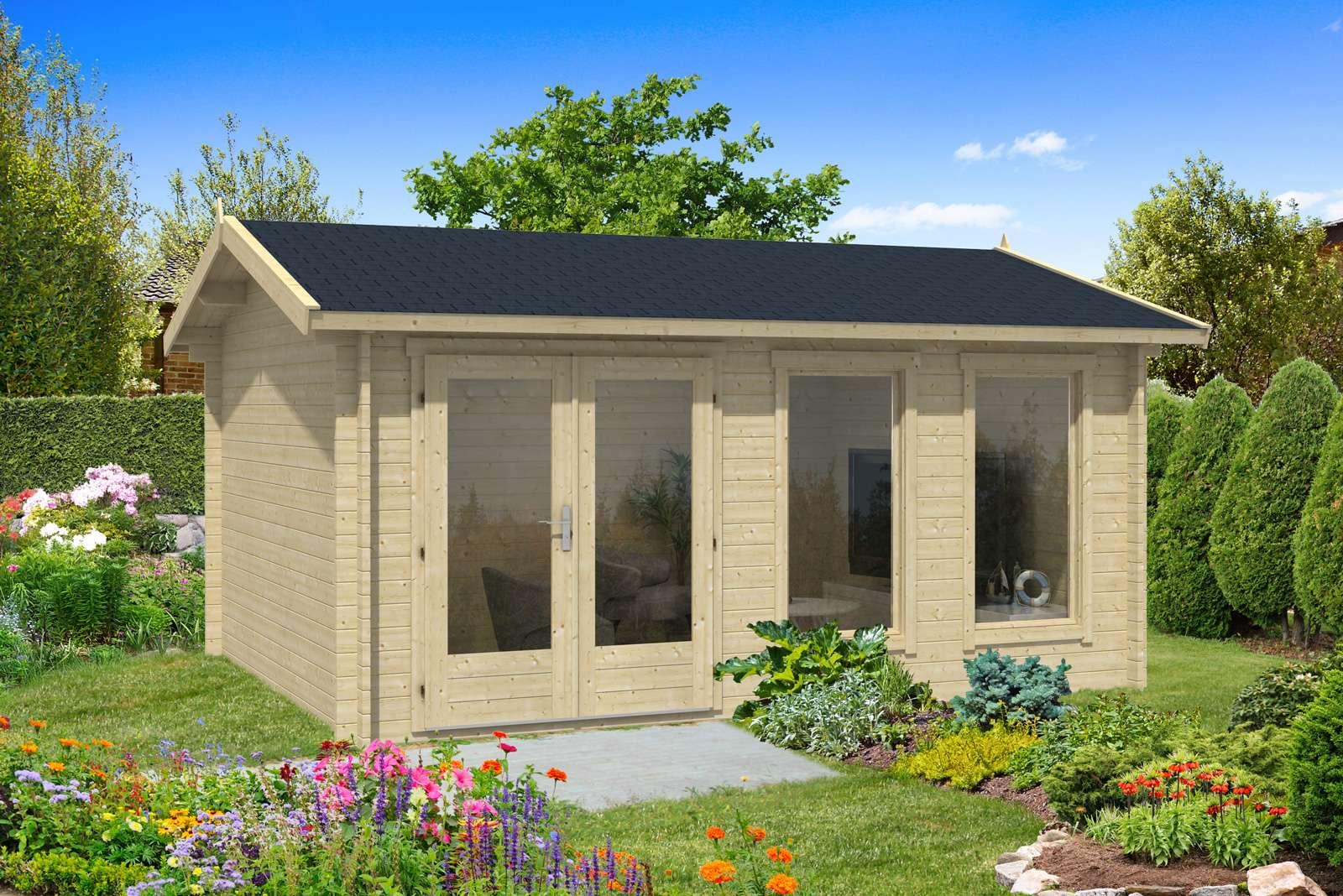 gartenhaus holz 2x3m co37 hitoiro. Black Bedroom Furniture Sets. Home Design Ideas