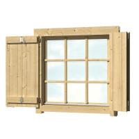 Fensterladen für Doppelfenster