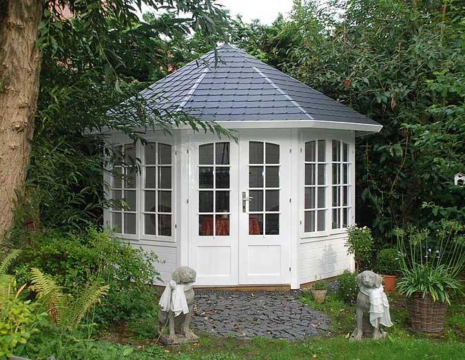 Gartenhaus naturschiefer