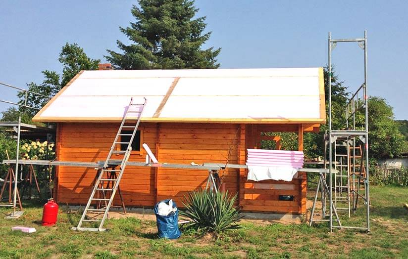 Dämmung Gartenhaus