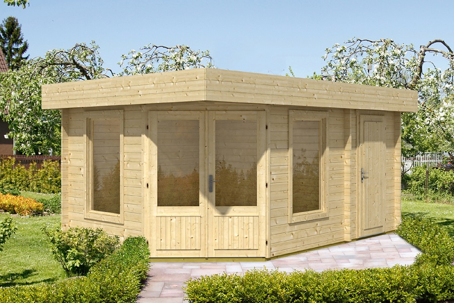 wolff 5 eck gartenhaus maja 40 b 2 537 070. Black Bedroom Furniture Sets. Home Design Ideas