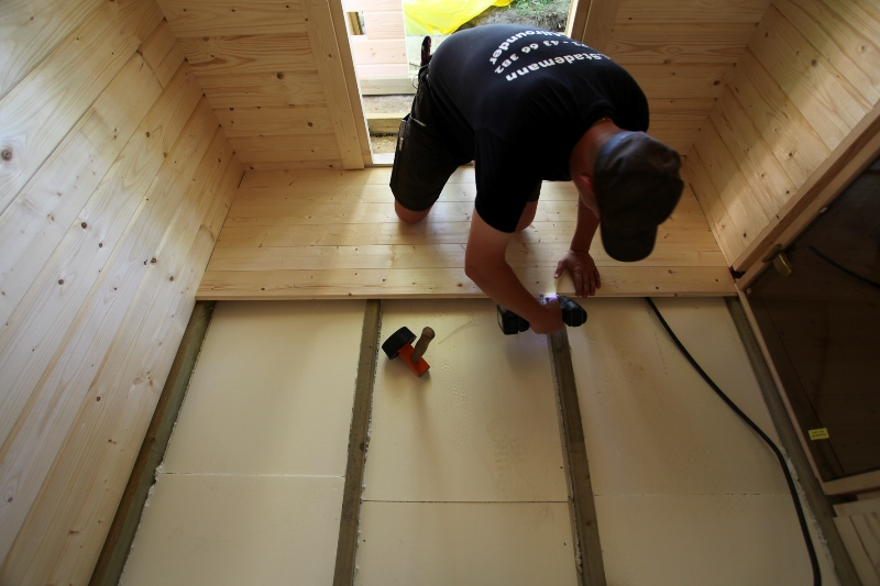 Holzfußboden Dämmung ~ Gartenhaus isolieren: so dämmen sie fassade dach & boden