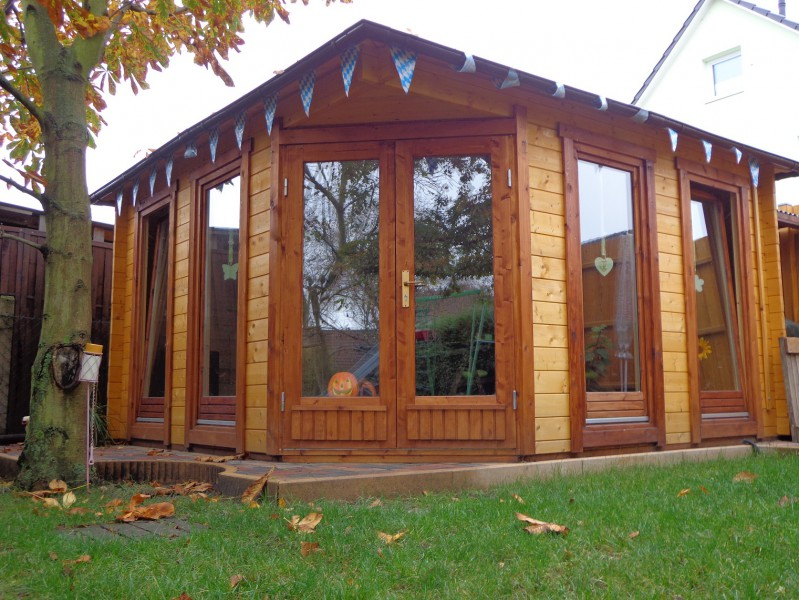 5 eck gartenhaus maja 70 iso. Black Bedroom Furniture Sets. Home Design Ideas