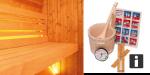 Wolff Rundum Sorglos Sauna-Set