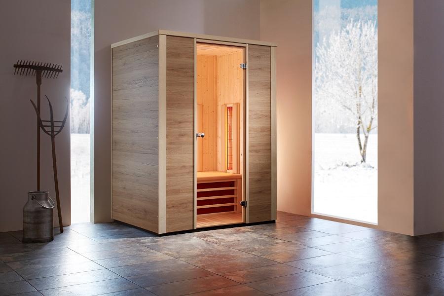 infraworld infrarotkabine triosol zermatt 150 390307. Black Bedroom Furniture Sets. Home Design Ideas