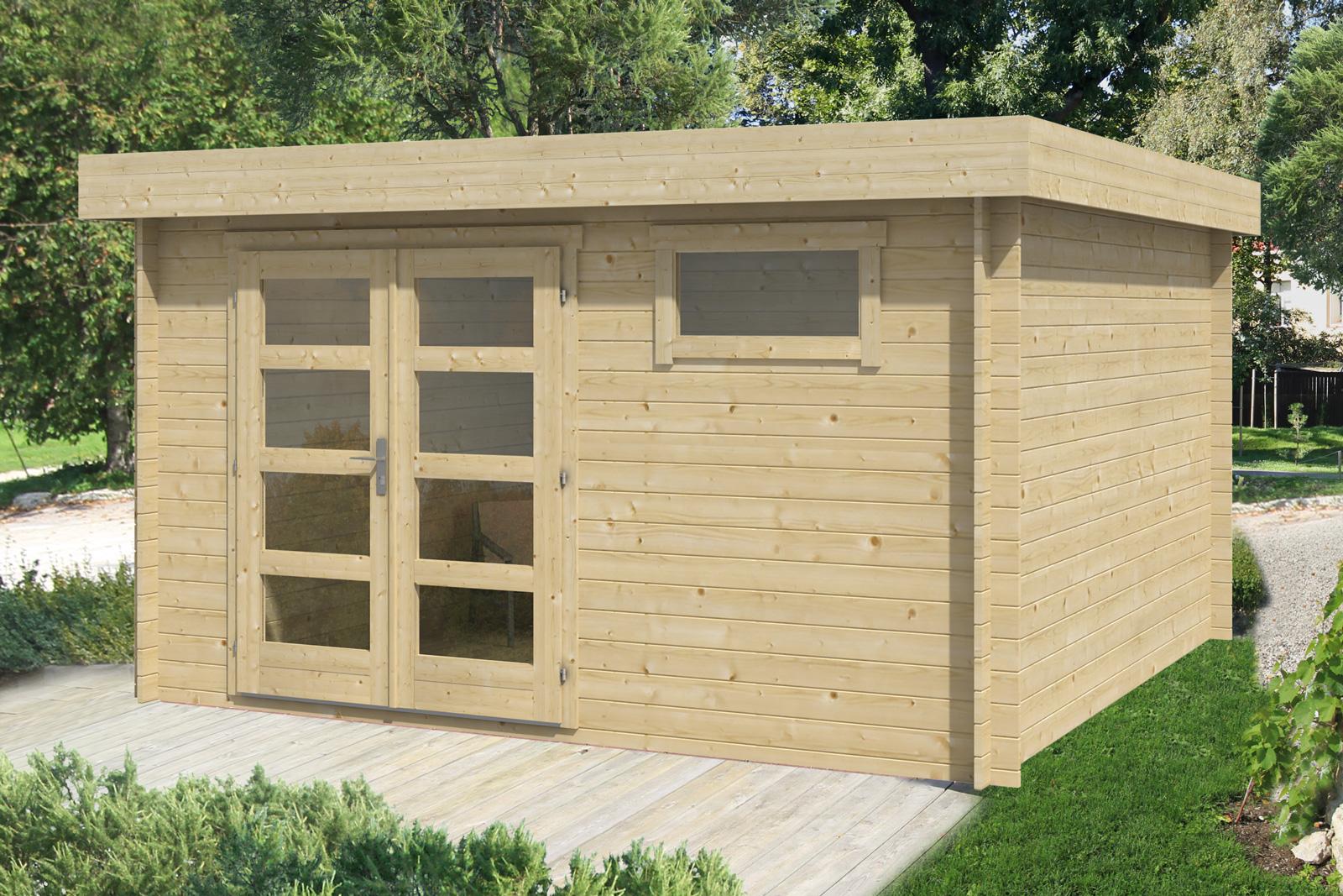 gartenhaus modell nina. Black Bedroom Furniture Sets. Home Design Ideas