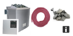 Karibu Saunaofen Basis-Set mit BIO-Kombiofen 9,0 kW