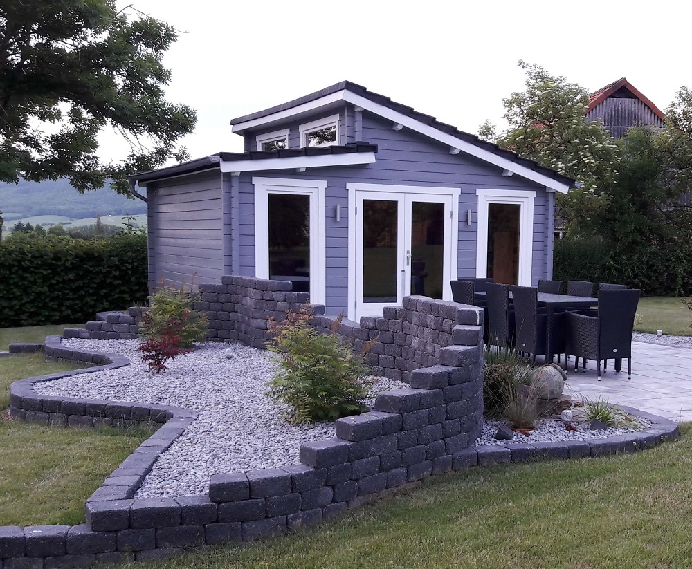 gartenhaus narvig 70 b. Black Bedroom Furniture Sets. Home Design Ideas