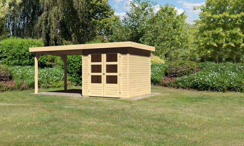 gartenhaus askola 2 mit sd. Black Bedroom Furniture Sets. Home Design Ideas