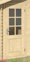 Einzeltür Halbglas 45