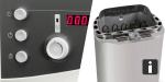 Sauna Basis-Set mit BioAktiv Kombiofen 9,0 kW