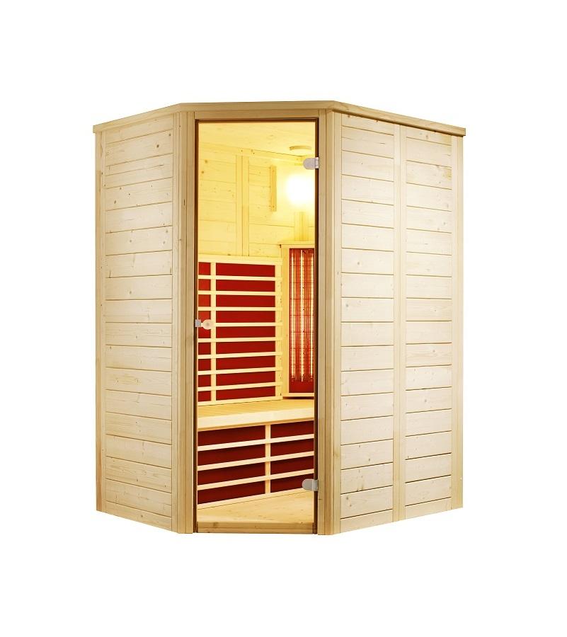 infraworld infrarotkabine vario natura 148 ecke. Black Bedroom Furniture Sets. Home Design Ideas