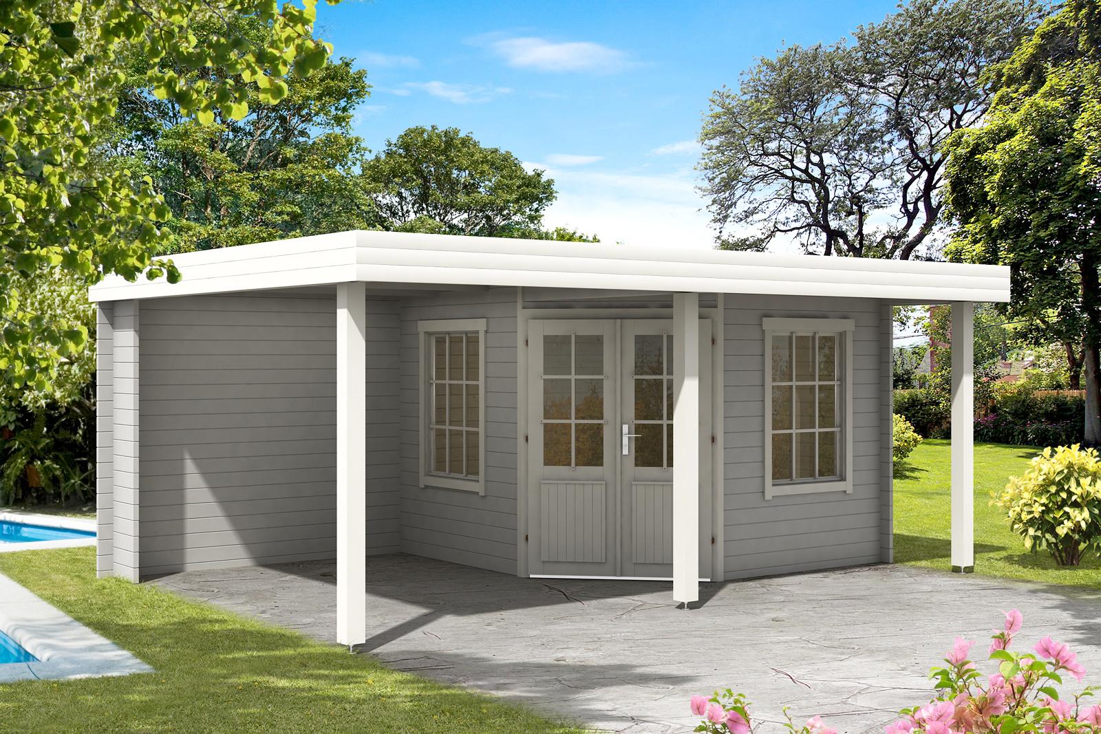 Gartenhaus modell hanna 40 plus - Skandinavisches gartenhaus ...