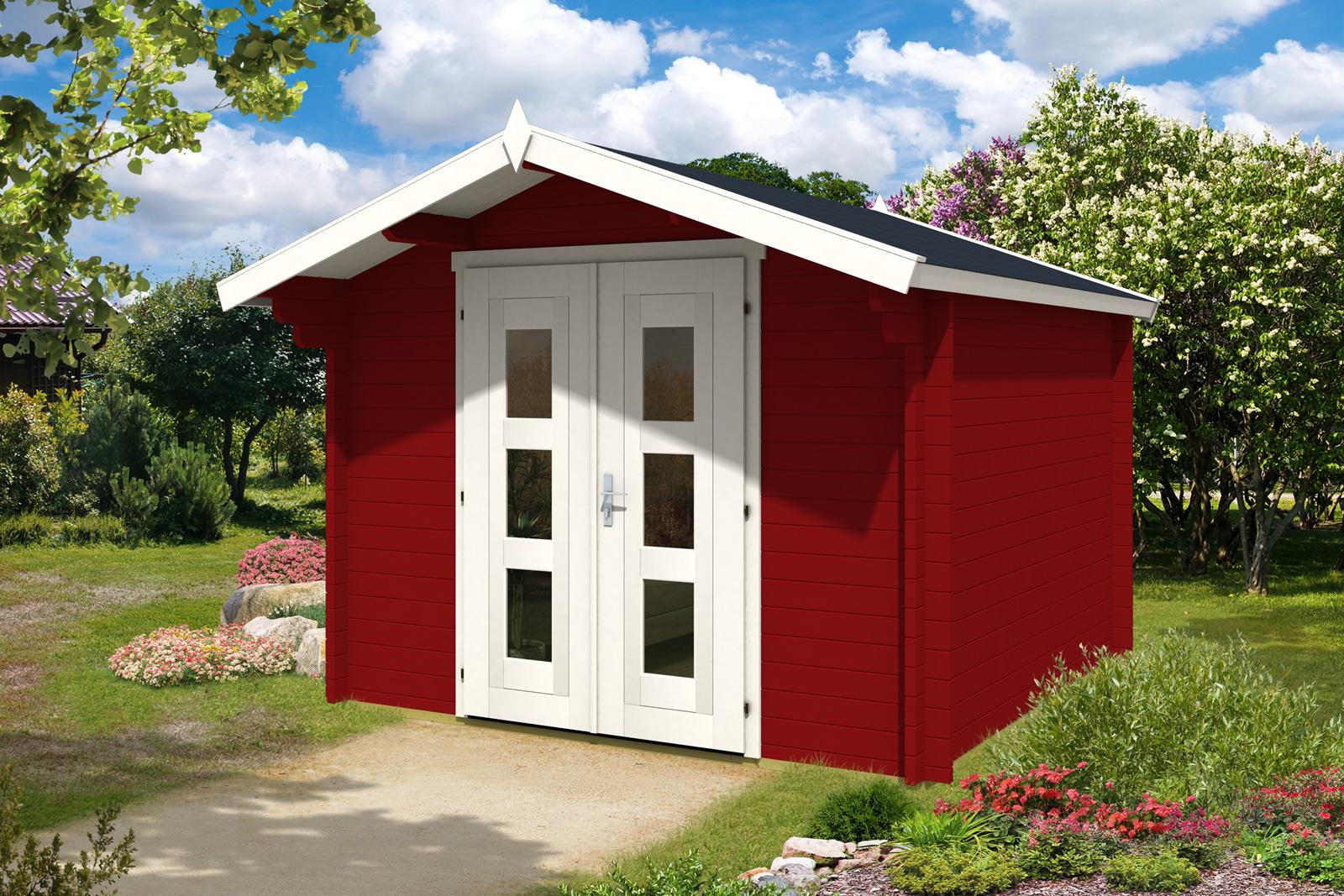 gartenhaus anna 44. Black Bedroom Furniture Sets. Home Design Ideas