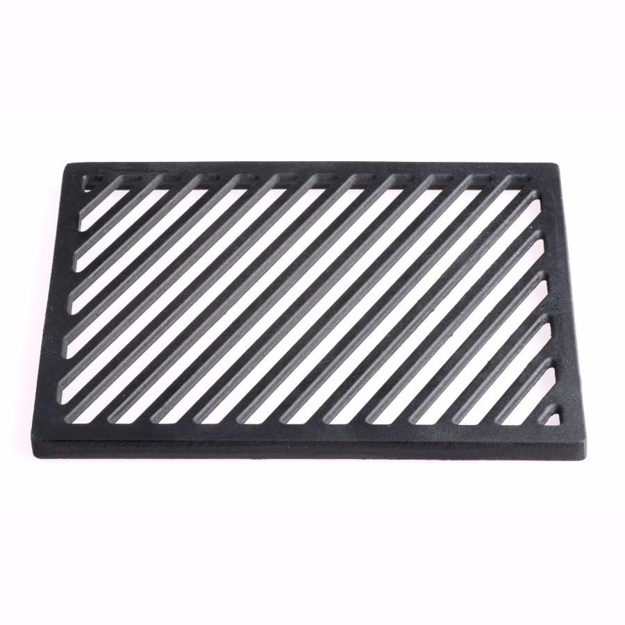 guss-grillrost-einleger für 27 x 27 cm eckig