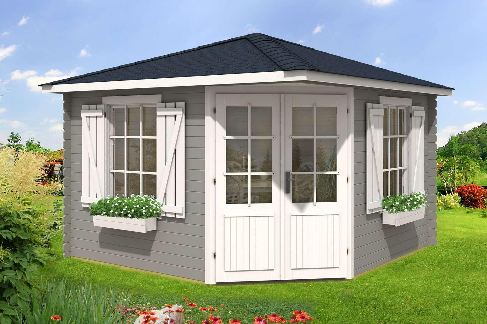 eck gartenhaus kunststoff my blog. Black Bedroom Furniture Sets. Home Design Ideas