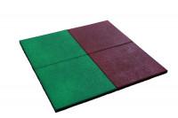 Fallschutzmatte rot ( VPE 1 Stück )