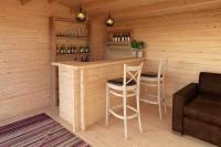 Holz Bar