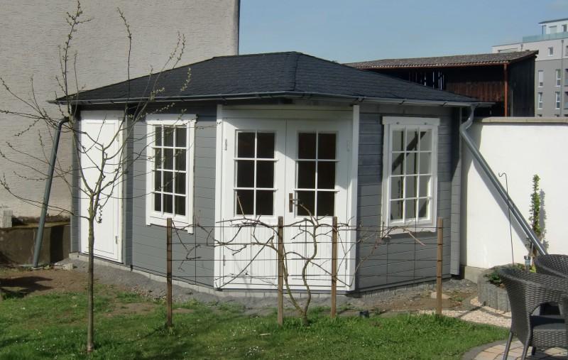5 eck gartenhaus modell rhein 40 5 eck gartenhaus modell. Black Bedroom Furniture Sets. Home Design Ideas