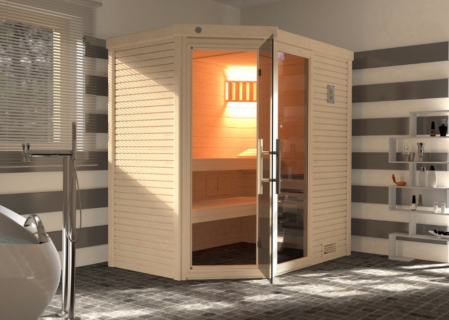 weka massivholzsauna cubilis. Black Bedroom Furniture Sets. Home Design Ideas