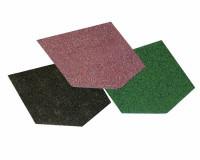 Bitumen Dachschindeln schwarz