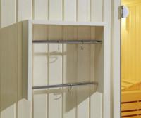 Regal und Handtuchhalter Design 450 Fichte