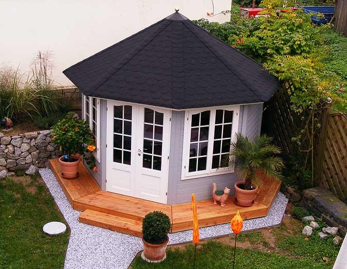 Gut bekannt Die richtige Dacheindeckung für ein Gartenhaus wählen QL06
