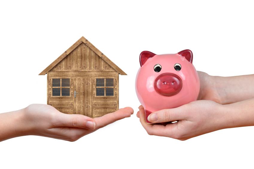 Finanzierung Gartenhaus Sparschwein