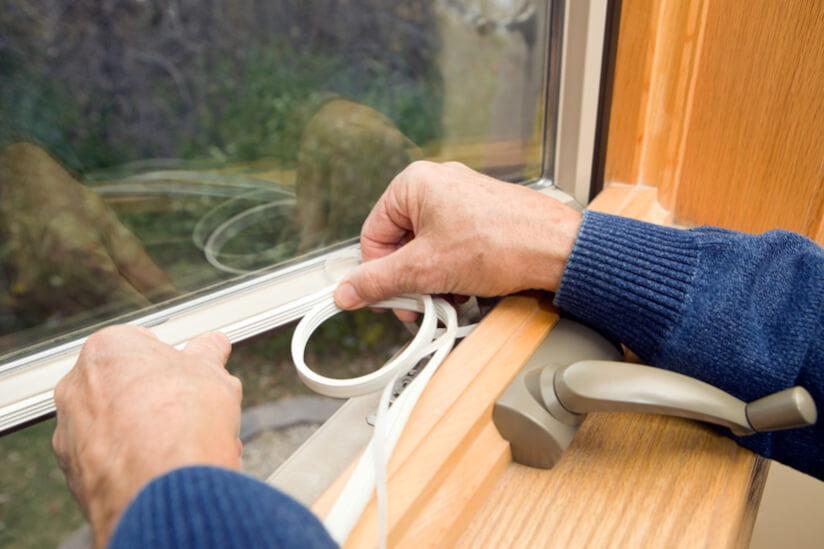 Fenster einbauen Dichtung