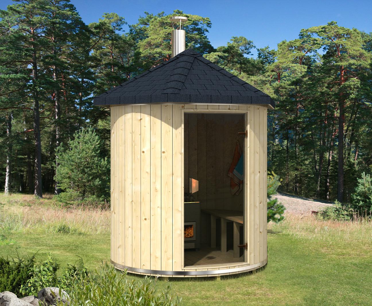 Sauna Für Garten : saunatonnen mit saunaofen ~ Watch28wear.com Haus und Dekorationen