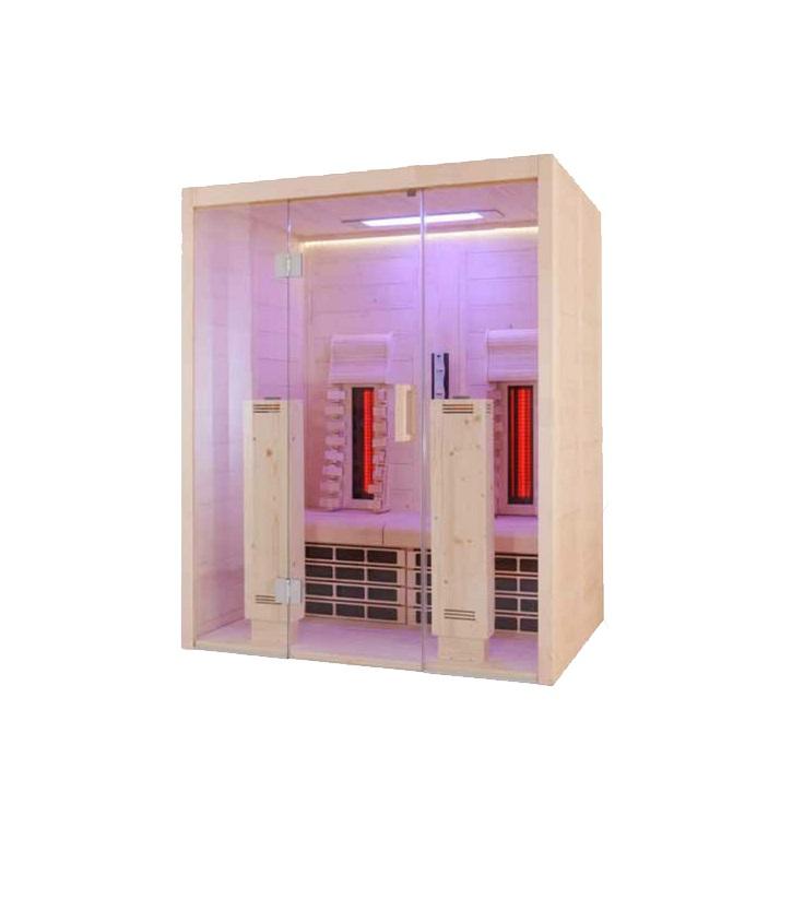 finntherm vollspektrum infrarotkabine zoe. Black Bedroom Furniture Sets. Home Design Ideas