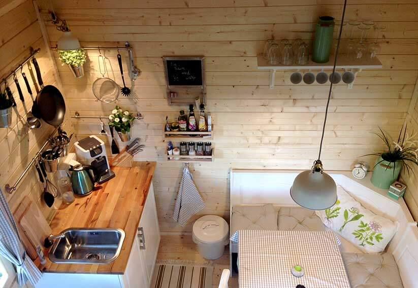 Gartenhausküche
