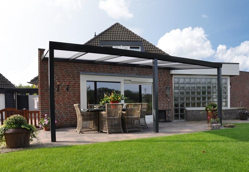 Terrassenüberdachung Material: Holz, Aluminium oder Glas