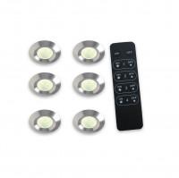 6 er Set LED-Beleuchtung Exclusive Line