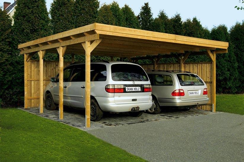 Extrem Carport verkleiden: Anleitung zum Carport schließen RX16