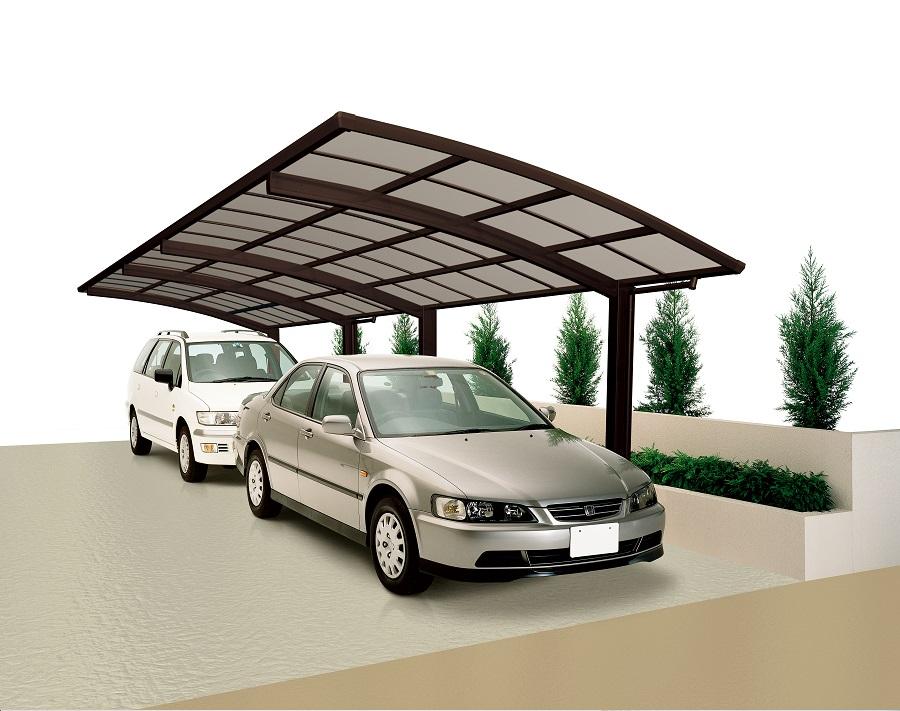 Ximax design carport portoforte 80 tandem - Gartenhaus aus aluminium ...