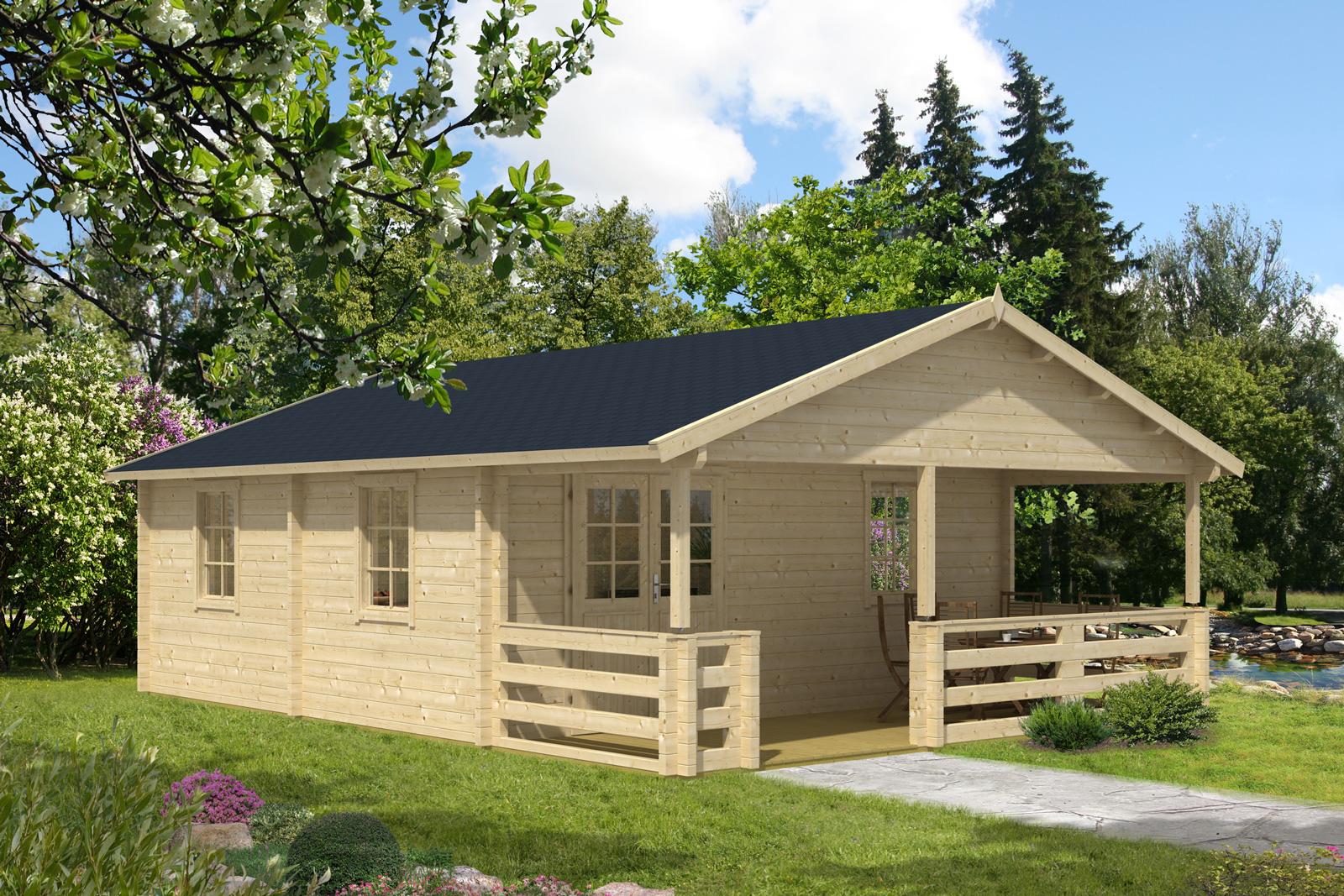garten und freizeithaus carroz 70 iso. Black Bedroom Furniture Sets. Home Design Ideas